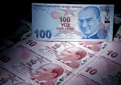 トルコ中銀が大幅利上げ、政策金利24%に (写真=ロイター) :日本経済新聞