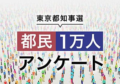 都民1万人アンケート | NHK選挙WEB