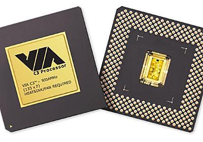 17年前の「VIA C3」プロセッサにバックドアが見つかる  - PC Watch