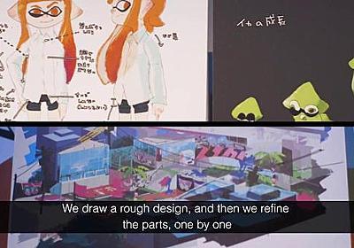 『スプラトゥーン』がロンドンの博物館に展示される。プロデューサーである野上恒がゲーム開発のプロセスを語る映像が公開