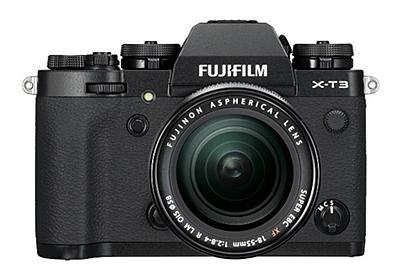 富士フイルム、新型ミラーレスカメラ「X-T3」--4K/60p動画、裏面照射CMOSを初採用 - CNET Japan