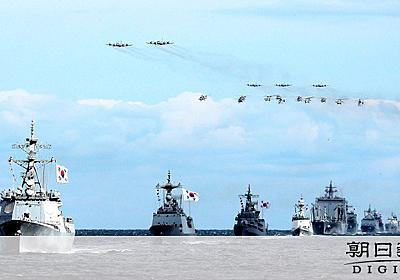 韓国軍艦、豊臣軍破った李舜臣の旗を掲げる 国際観艦式:朝日新聞デジタル