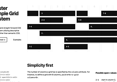 CSS Grid Layoutを使った便利なテクニックやツールなど | Web Design Trends
