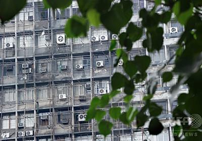 世界のエアコン需要、2050年までに3倍増 IEA報告書 写真1枚 国際ニュース:AFPBB News