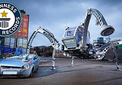 映画『スター・ウォーズ』BB-8を作ったエンジニアによる世界最大ロボット、ギネス記録に   ギズモード・ジャパン
