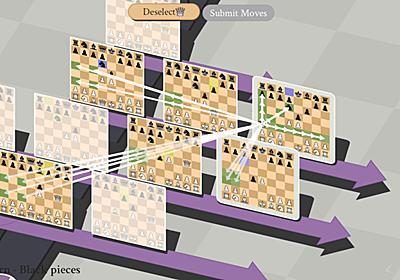 チェスを「並行世界&タイムトラベルあり」ルールで遊ぶ『5D Chess With Multiverse Time Travel』Steam配信中。別世界線の相手をチェックメイト | AUTOMATON