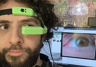 視線でスマホを操作する——Raspberry Piで動くヘッドバンド型アイトラッカー「Hypervisor」 | fabcross
