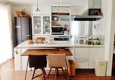 lovelyzakka の部屋「cafe風キッチン」 | reroom [リルム] 部屋じまんコミュニティ