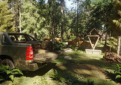 森林管理シム『Forester Simulator』発表。木々や動物の世話から密猟者への対処まで、森林管理者として仕事をこなす | AUTOMATON
