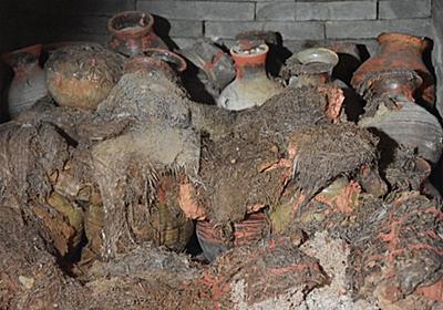 漢代の墓から2千年前の日用品が多数出土 陝西省西安市 写真6枚 国際ニュース:AFPBB News