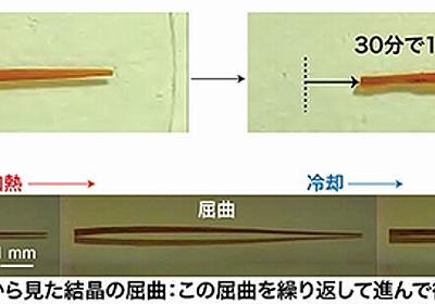 ゆっくり歩き、速く走る「ロボット結晶」を開発 - EE Times Japan