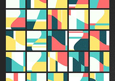 クリエイティブコーディングと配色 - 日常の進捗