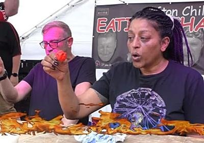 Meet Sid Barber, the Unbeatable Queen of Hot Chilli Pepper Eaters