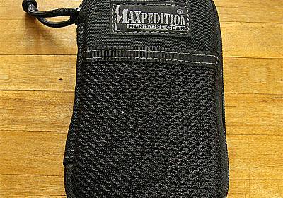 Maxpedition Micro Pocket Organizer EDCグッズをまとめて収納できる小型ポーチ | shave off mind