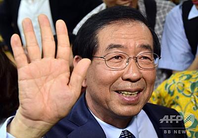 肖像画贈ったら政敵の顔だった…! 中国省長、ソウル市長に謝罪 写真1枚 国際ニュース:AFPBB News