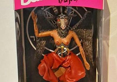 バービー人形の悪魔バージョンがどうかしてて目を疑う人々「これ子ども泣く」「バービー要素なし」 - Togetter