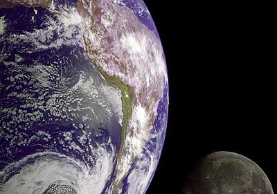 月の起源、「巨大衝突」ではなかった? 定説覆す論文発表 写真1枚 国際ニュース:AFPBB News