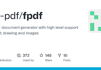 GitHub - go-pdf/fpdf: A PDF document generator with high level support for text, drawing and images