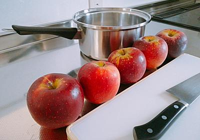またりんごケーキの季節がきた - 葉月日記