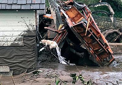 CNN.co.jp : 米カリフォルニア州土砂崩れ、死者17人に