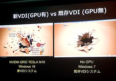 社員PCを仮想化するVDIに活用されるvGPU技術「NVIDIA GRID」 ~フアン氏はPCがクラウド化される未来を語る - PC Watch