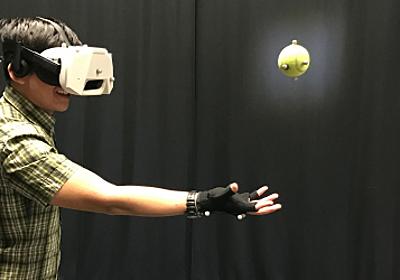ディズニー、VR空間にいながら現実のボールをキャッチするアイディアを論文にて公開。ボールの予測軌道を表示など   Seamless