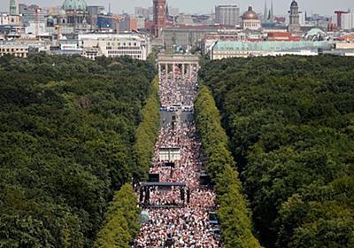 CNN.co.jp : ベルリンで大規模デモ、新型コロナ対策の行動制限に抗議