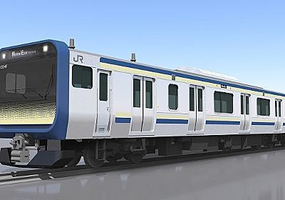 JR横須賀・総武快速線に新型車両「E235系」を導入へ   鉄道新聞