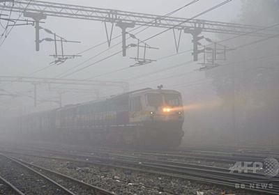 土地収用の補償は「客車20両の特急列車と駅長室」 インド 写真1枚 国際ニュース:AFPBB News