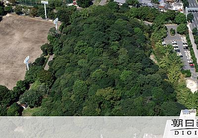 ヤマトタケル妻は名古屋に? 断夫山古墳を発掘調査へ:朝日新聞デジタル