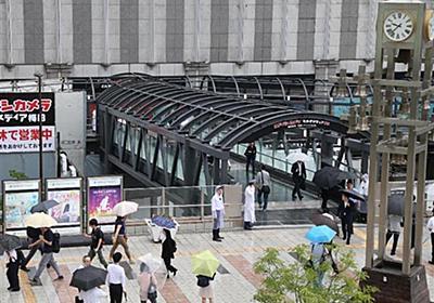 JR大阪駅とヨドバシ梅田をつなぐ「空中通路」が開通