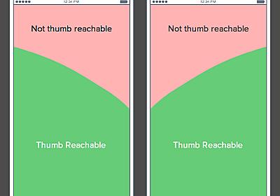 モバイルではメニューを画面下に表示すべき理由 | UX MILK