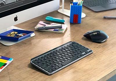 米Logitechがミニマルなキーボード「MX Keys Mini」を海外発表 - Engadget 日本版