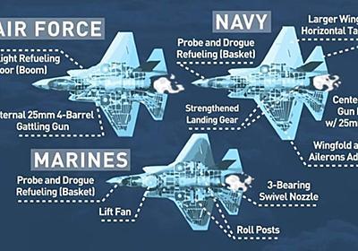 CNN.co.jp : 米海軍のF35C、初期作戦能力を獲得 実戦配備可能に