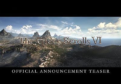 The Elder Scrolls VI – Official Announcement Teaser