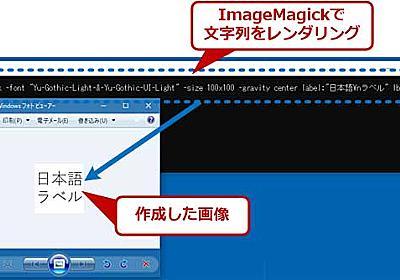 コマンドラインで画像処理が行える便利ツール「ImageMagick」 (1/2):知っトクWindowsツール - @IT