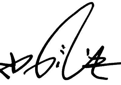 2秒で書けてかっこいい「ビジネスサイン」の作り方 - デイリーポータルZ