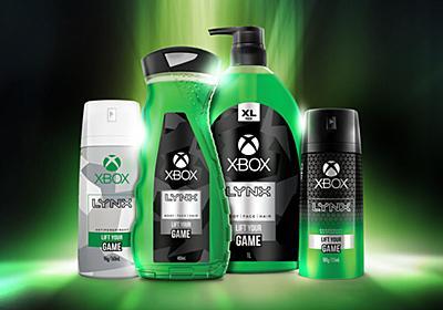 MicrosoftがXboxブランドの男性用化粧品「Lynx Xbox」を発表 - GIGAZINE