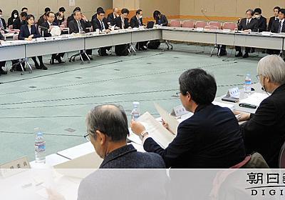 勤労統計不正、隠蔽工作か 15年に抽出容認の記述削除:朝日新聞デジタル