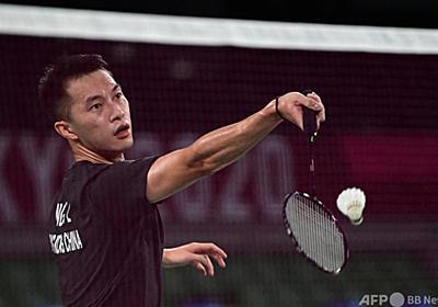 黒色ウエアが香港民主派想起? バドミントン選手に非難、選手団は擁護 写真2枚 国際ニュース:AFPBB News
