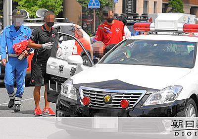 五輪スポンサ-、特別にパトカーに乗せ写真 記者が目撃 - 東京オリンピック:朝日新聞デジタル