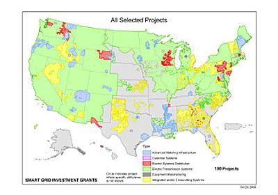 オバマ大統領、スマートグリッドに34億ドル、約3100億円を助成すると発表: ソフトエネルギー