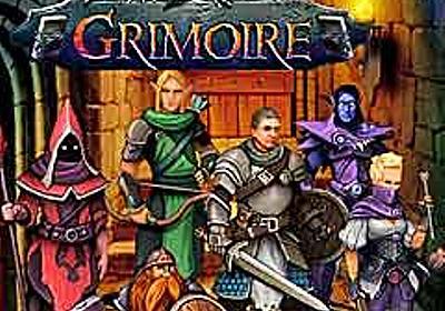 開発期間が20年を超えるRPG「Grimoire : Heralds of the Winged Exemplar」が2017年5月29日,ついにリリース - 4Gamer.net