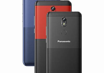 Panasonic P110 発表、5.34インチのGO Editionスマートフォン 価格は約7千円 | phablet.jp (ファブレット.jp)