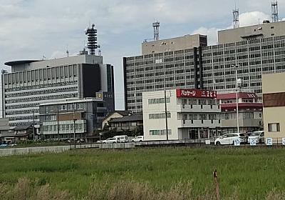 岐阜の官庁街は急にポツンとある :: デイリーポータルZ