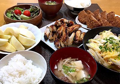 【晩ごはん献立】手羽中塩麹焼きと白菜卵とじ~受験生の親の心構え~ - ❁︎節約ごはん&日常~ときどき三兄弟~❁