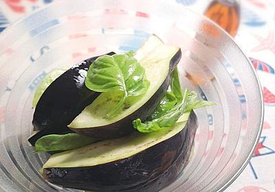 生で食べて甘さが際立つ♪水茄子バジル : 気まま料理で レシピとか Powered by ライブドアブログ
