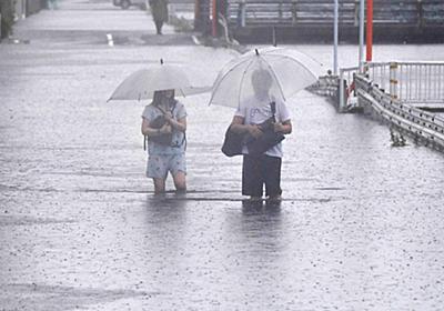 浸水「3年前から毎年…」九州住民に疲労 雨、20日ごろまで   毎日新聞