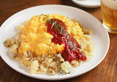 冷凍ご飯でタンパク質マシマシ洋食「とろとろ卵のシーフードオムピラフ」1人分レシピ【筋肉料理人】 - メシ通   ホットペッパーグルメ