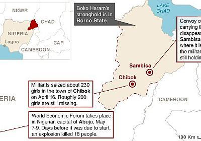 CNN.co.jp : 少女捜索拠点の村に襲撃、150人死亡 ナイジェリア - (1/3)
